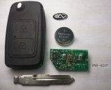 Flip Remote Key for Chery Tiggo 2 Button 315Mhz